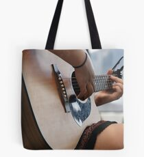 Angell's Guitar Tote Bag