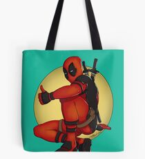 Red Pool Tote Bag