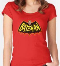 BateMAN! Women's Fitted Scoop T-Shirt