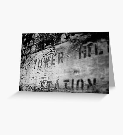 Build. Buy or Tower Hill Stations Greeting Card