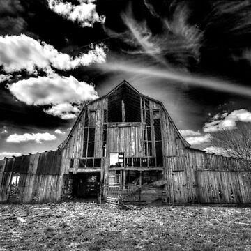 Dying Barn, Immortal Sky by DesignsAndStuff