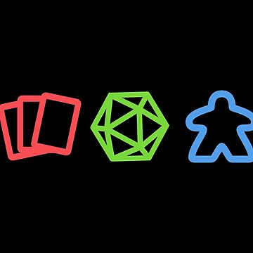 Nerdy Trading Card Game, D20 Dice Tabletop RPG and Board Games by pixeptional