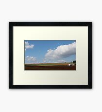 farmlands Framed Print