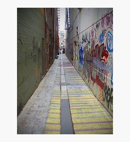 The Alley Photographic Print