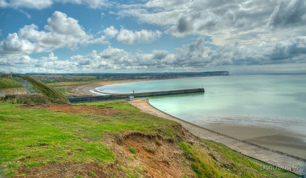 Seaford Bay from Newhaven: East Sussex, UK by DonDavisUK