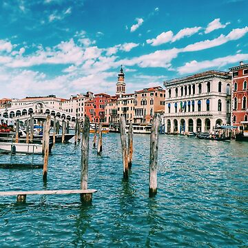 Canal of Venice summer blue picture by paulmcnam