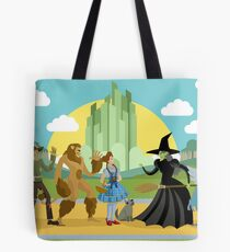 wizard of oz characters Tote Bag