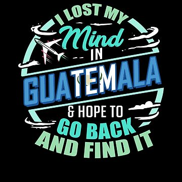 Guatemala Flag | I Lost My Mind in Guatemala by highparkoutlet