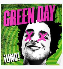 Green Day Uno Album Cover Poster