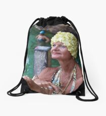 Captivated Drawstring Bag