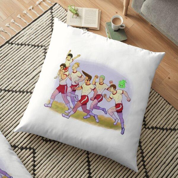 Body Improvement Club! Floor Pillow