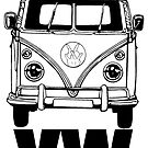 VW BUS by chasemarsh