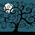 Silhouette of Night by Carlos Phillips