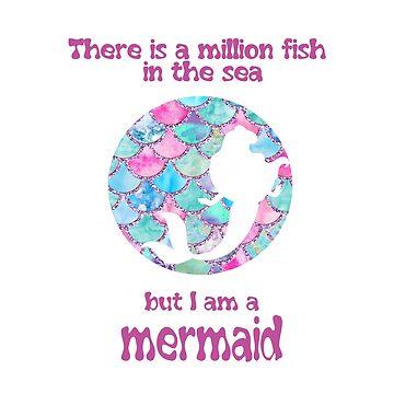but i am a mermaid by NajlaaSA