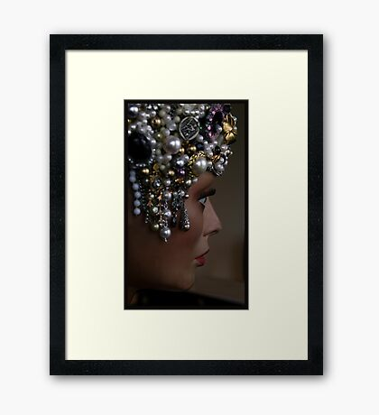Eat your heart out Lady Gaga Framed Print