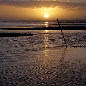 Sunrise over Dunsborough by kalaryder