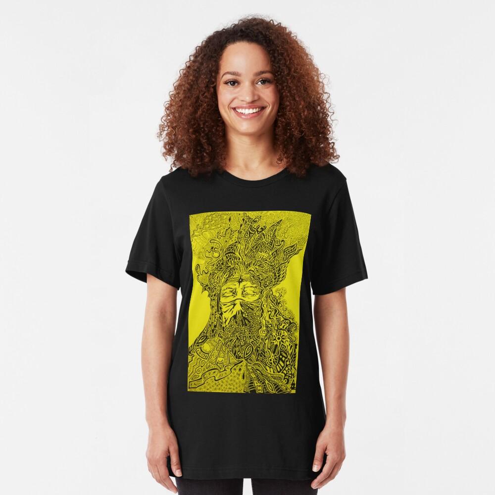 Power of Mind Slim Fit T-Shirt