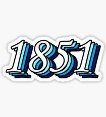 1851 Sticker
