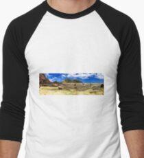 Castaway Island Panorama Men's Baseball ¾ T-Shirt