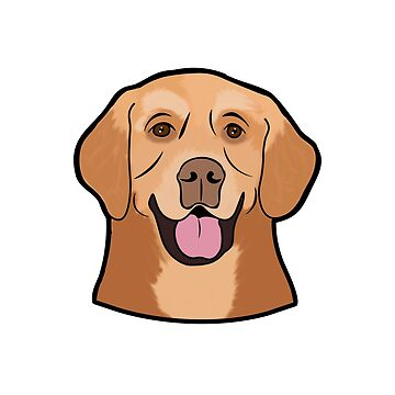 Golden Retriever Puppy Dog Love  by ccheshiredesign