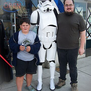 Meeting A Starwars Storm Trooper by Jonice