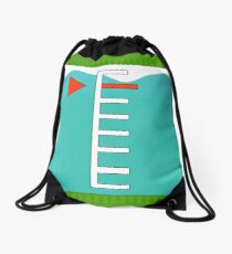 Turquoise Ink Tank | Splatoon Drawstring Bag