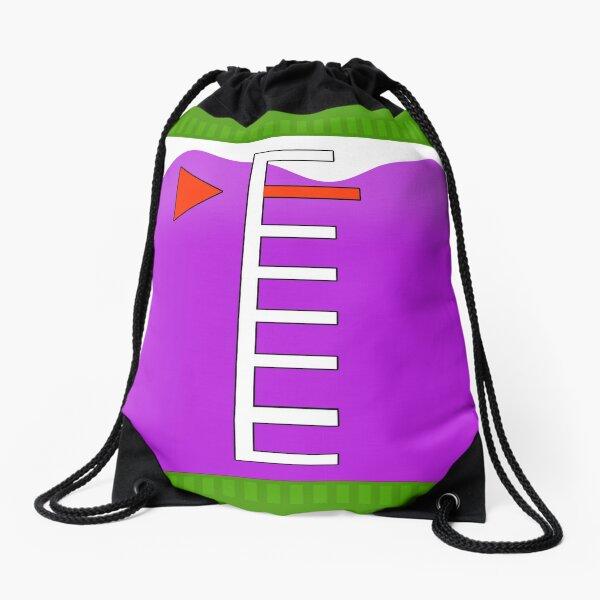 Purple Ink Tank   Splatoon Drawstring Bag