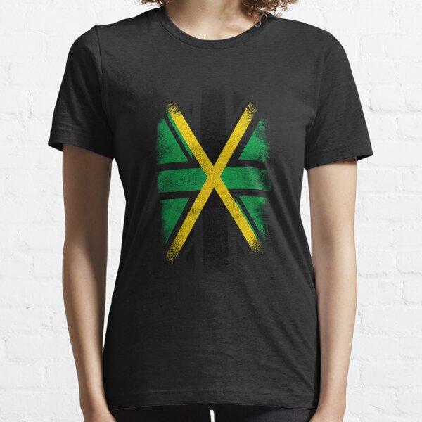 Drapeau de la Jamaïque britannique - Jamaïque et T-shirt de la fierté britannique T-shirt essentiel