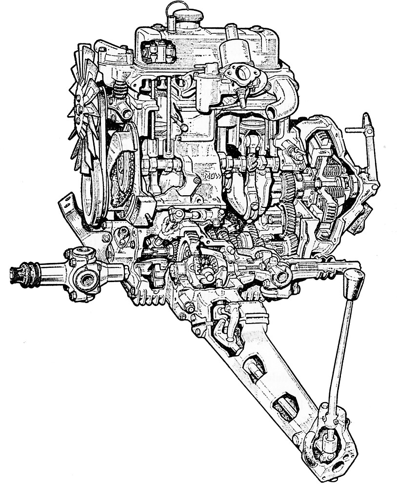 A-Series Transverse Engine by JustBritish
