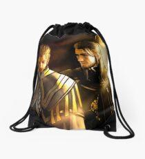 Citadel sunset Drawstring Bag