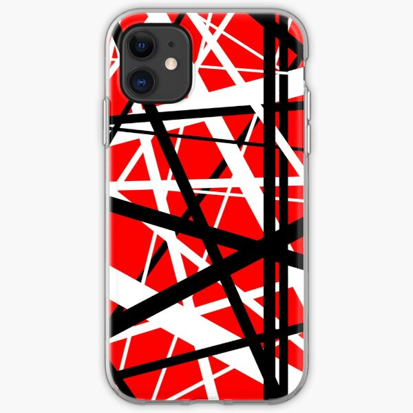Frankenstein Pattern (Red) iPhone Soft Case