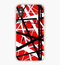Frankenstein Pattern (Red) iPhone Case