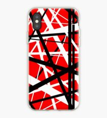 Frankenstein Pattern (Red) iPhone Case