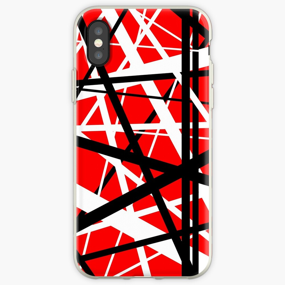 Frankenstein-Muster (rot) iPhone-Hüllen & Cover