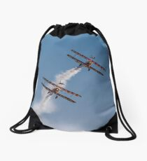Flying High Drawstring Bag