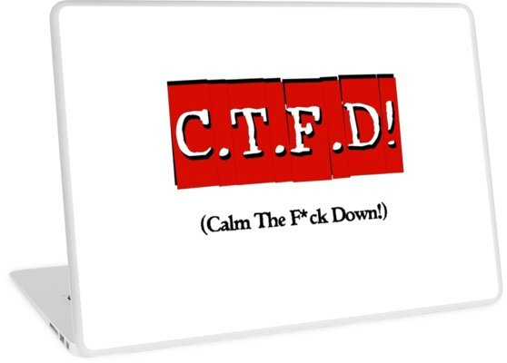 CTFD! (Calm the f*ck down!) by DDLeach