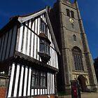 The Guild Hall & Church, Eye, Suffolk by wiggyofipswich