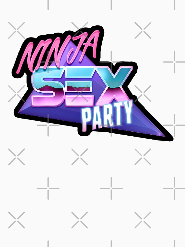 Ninja Sex Party - Retro by flightedbird