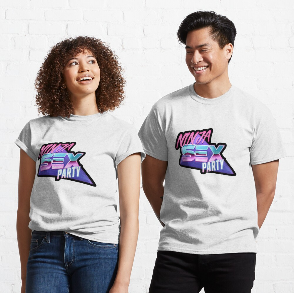 Ninja Sex Party - Retro Classic T-Shirt