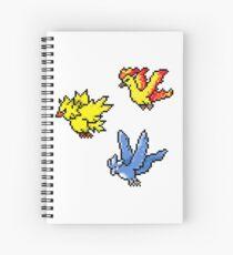 Legendary Pixels Spiral Notebook