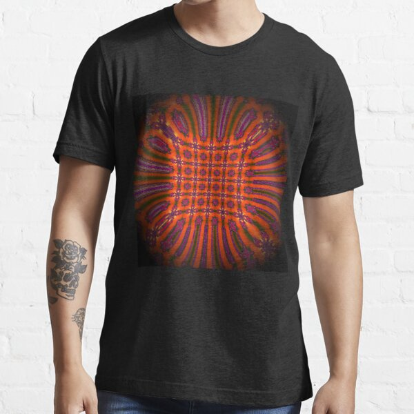 Red Pattern Essential T-Shirt