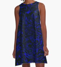 Eyes in the Water - Rasha Stokes A-Line Dress