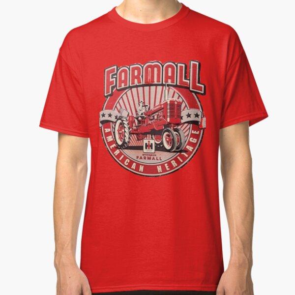 American Heritage FARMALL Tractors Vintage,Farmers Classic T-Shirt