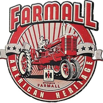 American Heritage FARMALL Tractors Vintage,Farmers by Glyn123