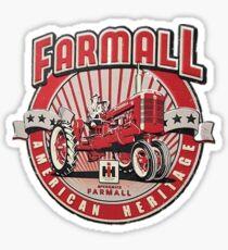 American Heritage FARMALL Tractors Vintage,Farmers Sticker