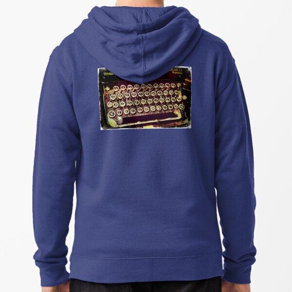 Enigma - Typewriter IV Zipped Hoodie