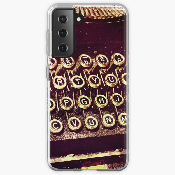 Enigma - Typewriter IV Samsung Galaxy Soft Case