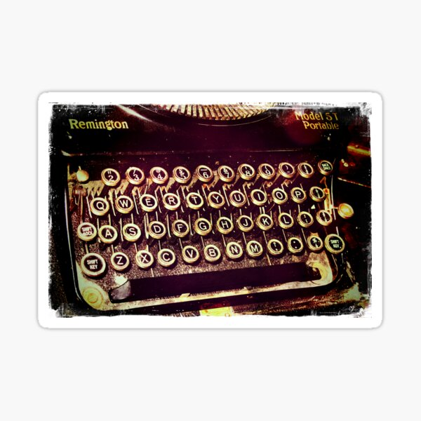 Enigma - Typewriter IV Sticker