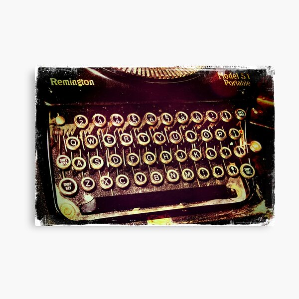 Enigma - Typewriter IV Canvas Print