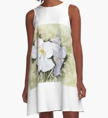 The heart of Inverewe A-Line Dress